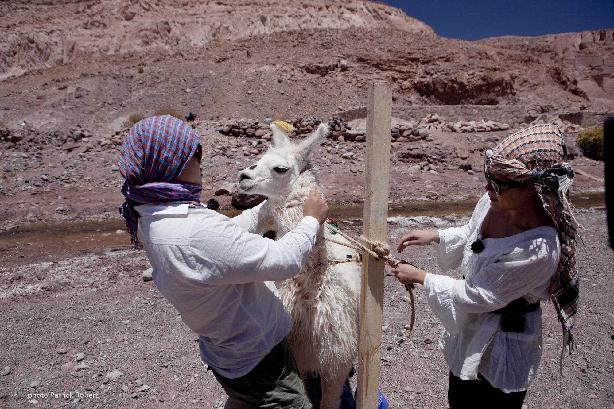 Pékin Express 5 - Hoang et Quyen - Chili Désert d'Aracama