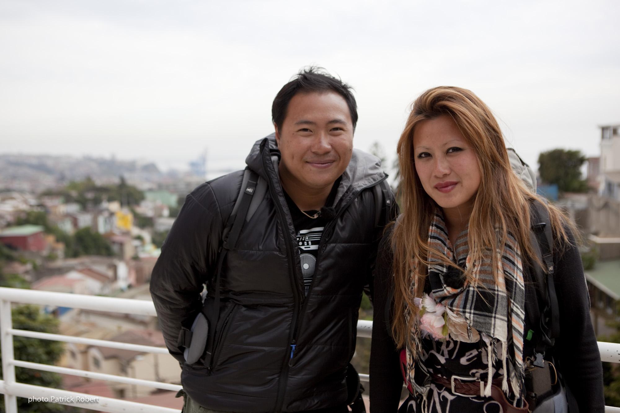 Pékin Express 5 - Hoang et Quyen - Chili  Valparaiso - Ville au charme légendaire -  Maison du poète et écrivain Chilien Pablo Neruda
