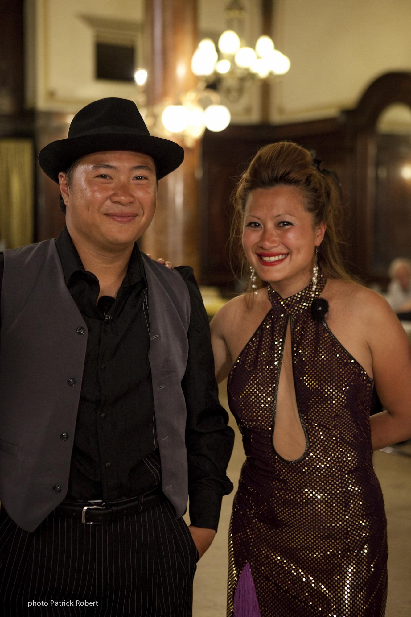Pékin Express 5 - Hoang et Quyen - Argentine Buenos Aires Ecole de Tango du célèbre danseur Carlos Copello