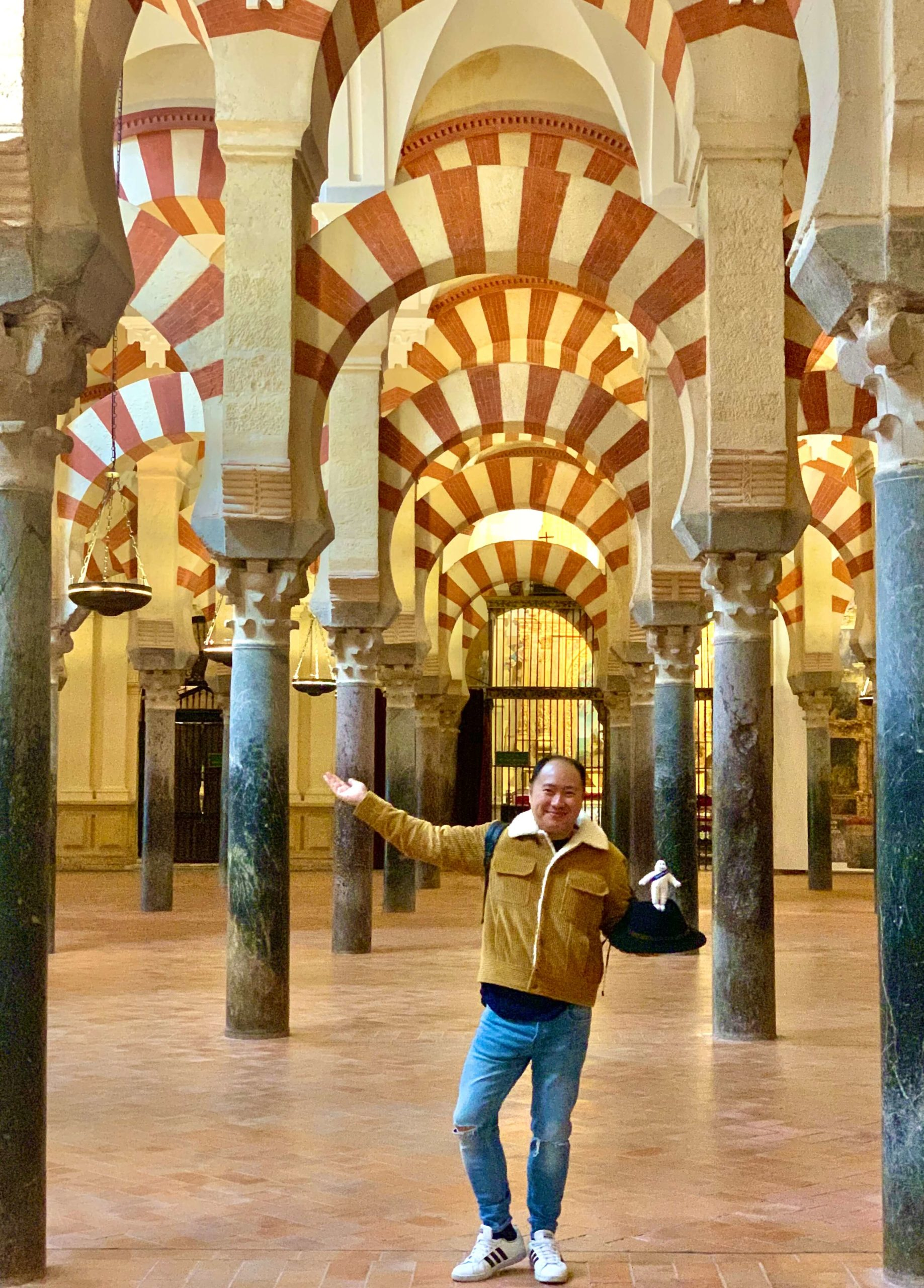 Bibendum Tour - Hoang à la Mezquita Cordoba