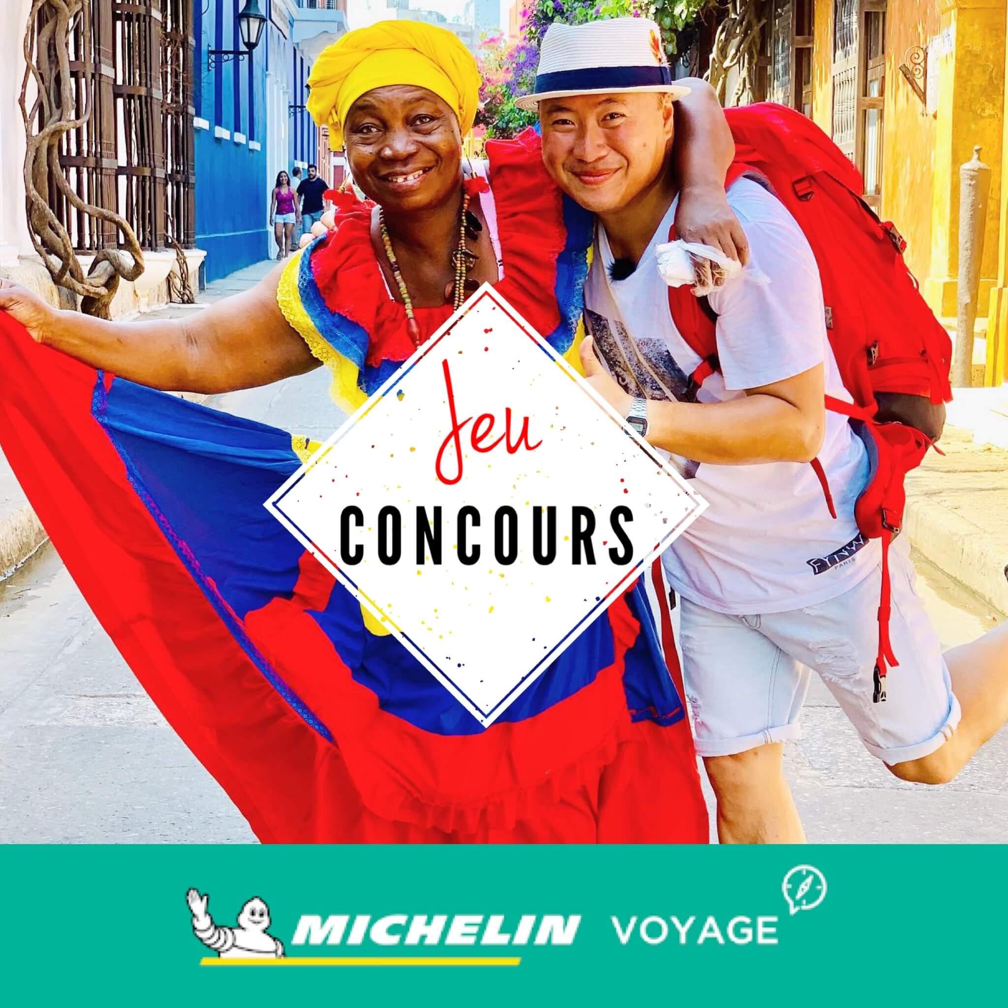 Jeu Concours, Hoang et Michelin Voyage