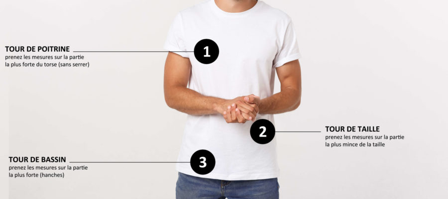 Guide Mesure Taille Homme